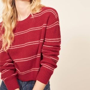 Reformation Kaia cashmere Sweater